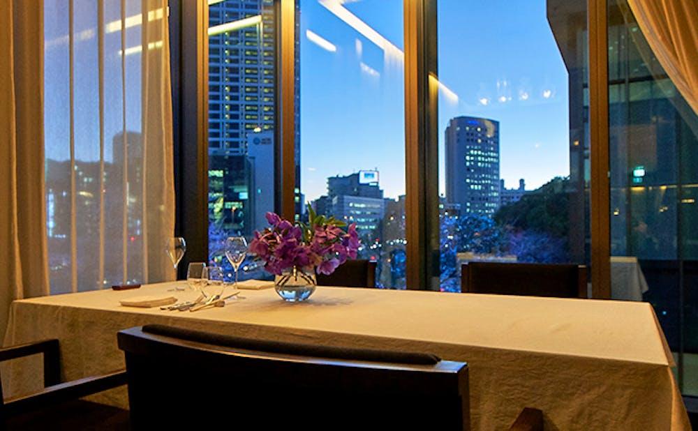 「赤坂 桃の木」からの風景