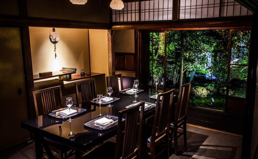 京都幽玄の個室