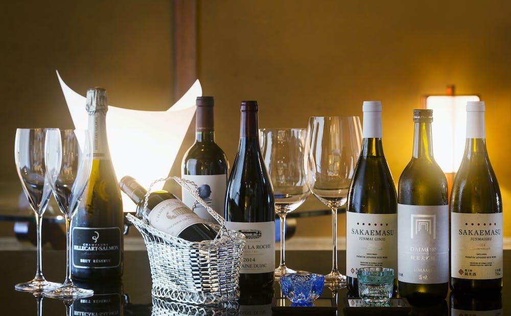 京都幽玄のワインセレクション