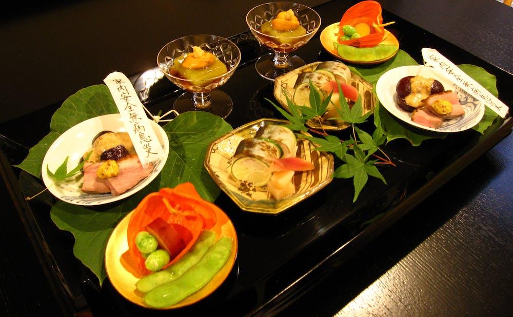 祇園 いわさ起の料理