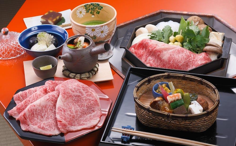 「三嶋亭」料理