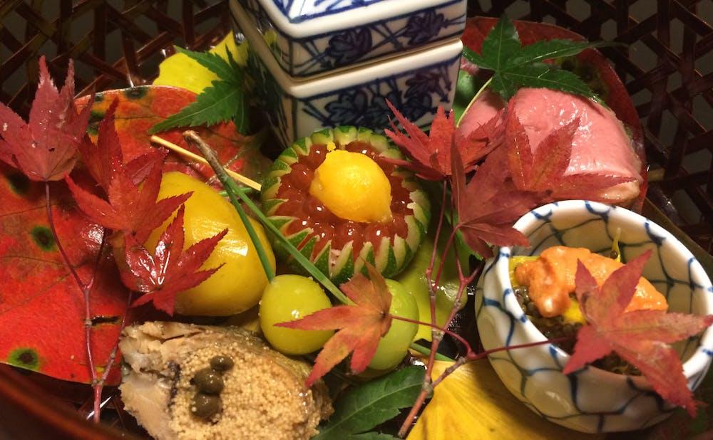旬の味覚を味わう、和食・割烹料理店の秋のスペシャリテ